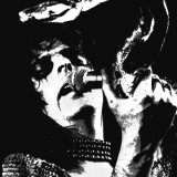 Alice Cooper Holding A Snake