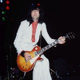 Jimmy Page In A White Suit
