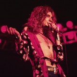 Robert Plant Under Red Lights