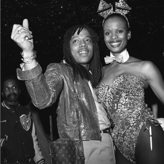Rick James and a Bunny