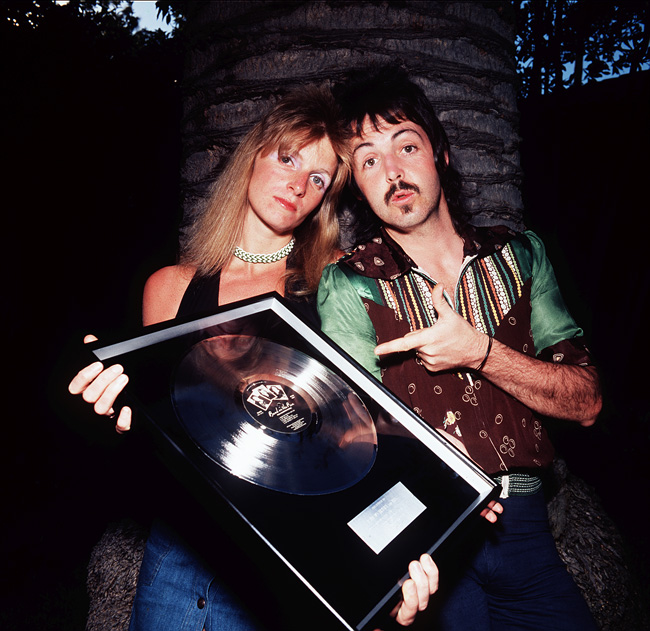 Image result for paul mccartney platinum record